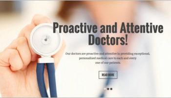 Doctor Website Joomla Templates
