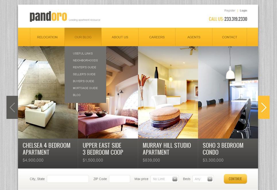 real estate pro theme drupal