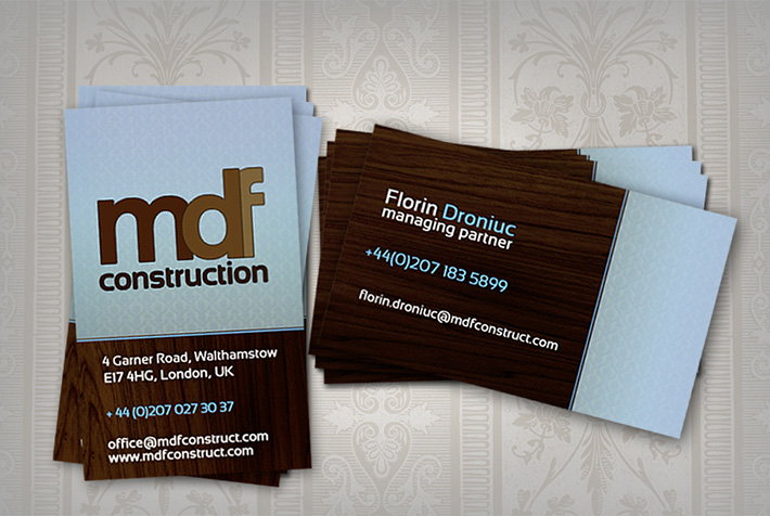 20 construction company business cards free templates sample business card templates free download accmission Gallery