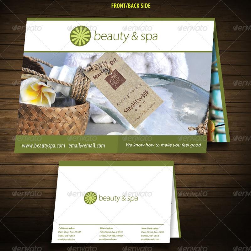 spa brochure sample