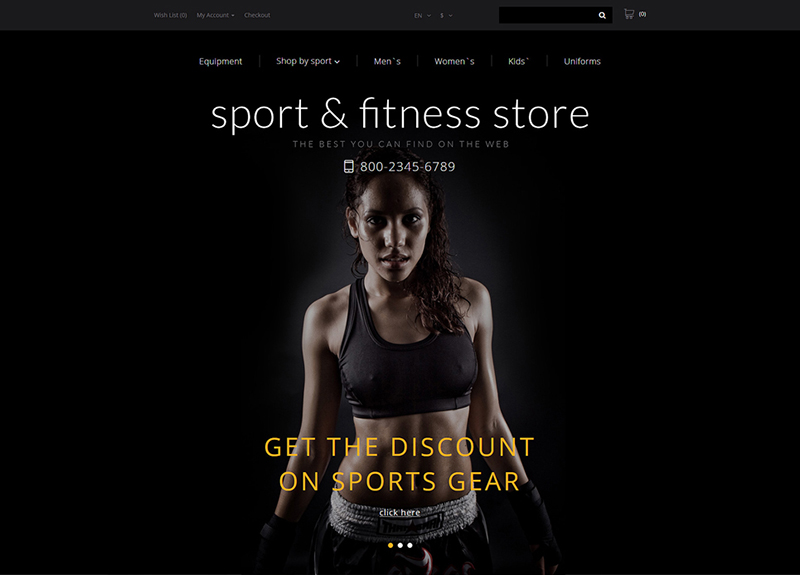 sports html5 template
