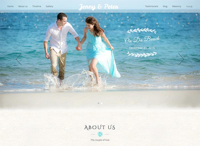 wedding wordpress theme download