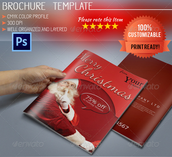 A5 Christmas Brochure