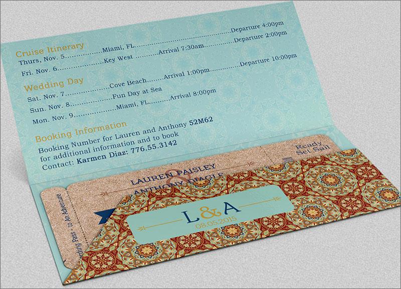 Adventure Boarding Pass Invitation