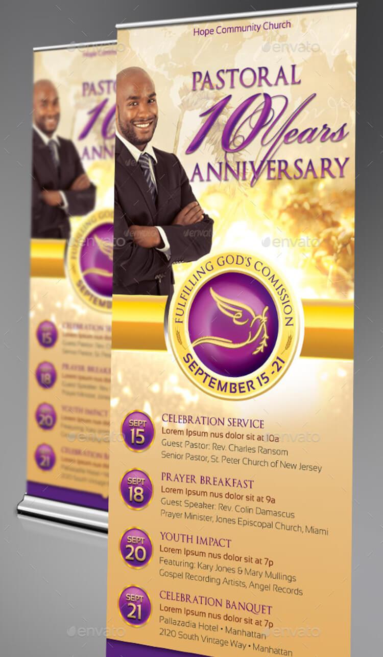 Anniversary Banner Template