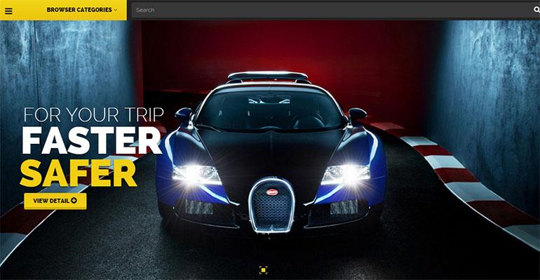 Cars PrestaShop Themes