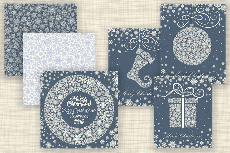 Christmas Backgrounds Templates
