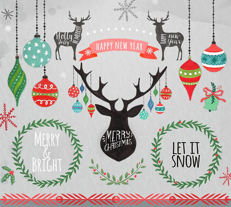 Christmas Clipart & Ornaments