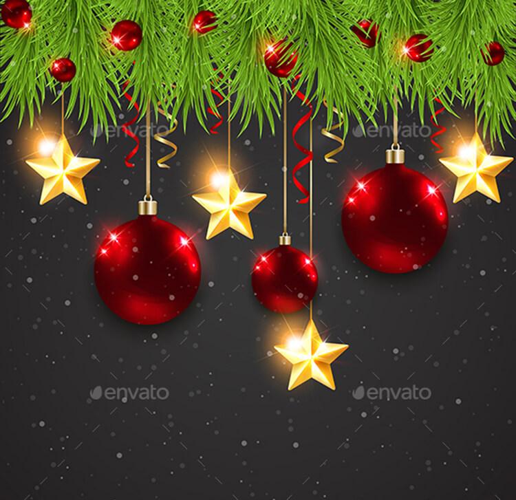 Christmas Decorations Vectors