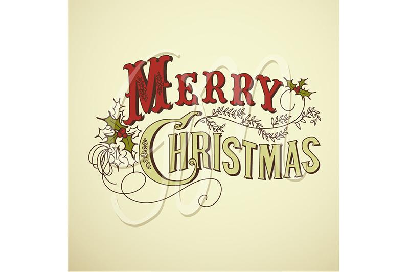 Christmas Digital Cards Template