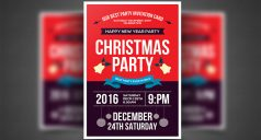 25+ Christmas Party Flyer Templates