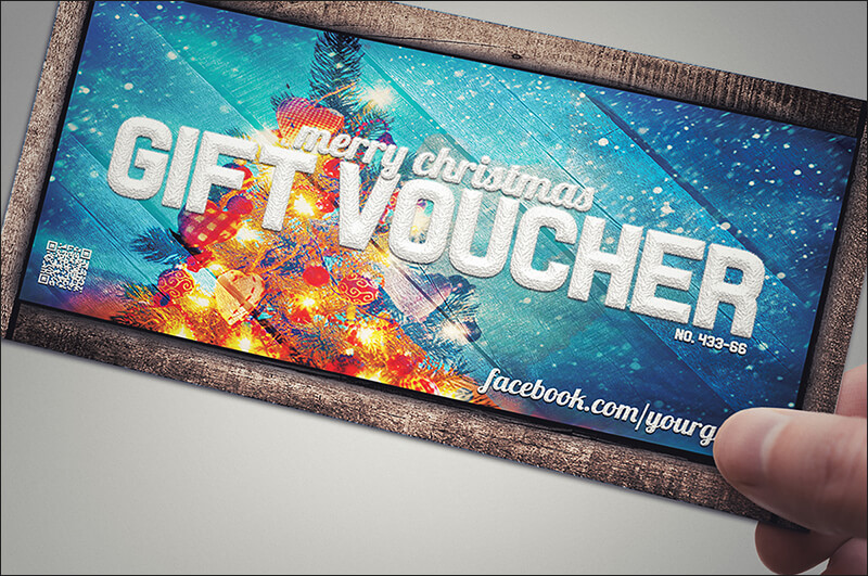 Christmas Gift Voucher Card