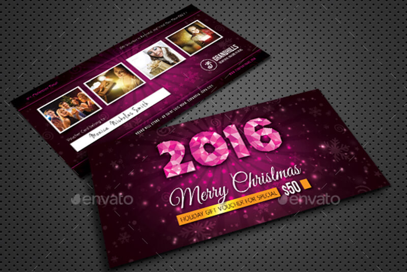 Christmas Holidays Gift Voucher