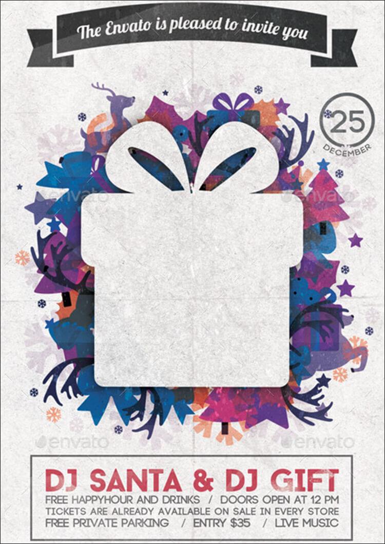 Christmas Invitation Poster