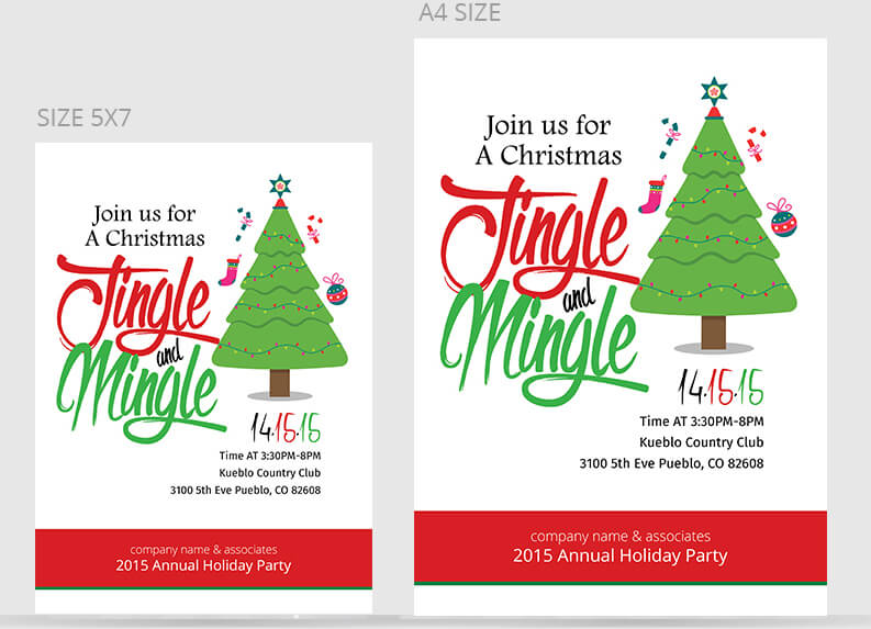 Christmas Party Flyer Templates & PSD Designs | Free & Premium ...