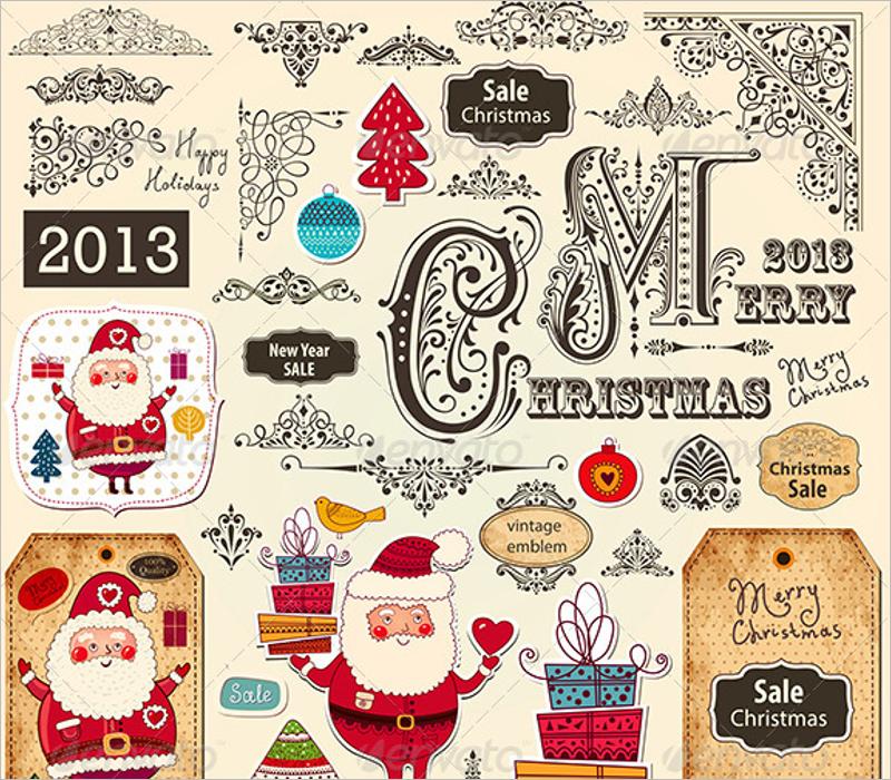 Christmas Ornament Design Vector