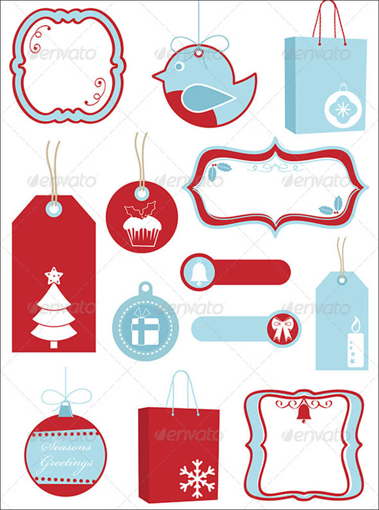 Christmas Ornaments, Gift Tags & Decorations