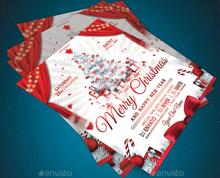 Christmas Party Design Flyer