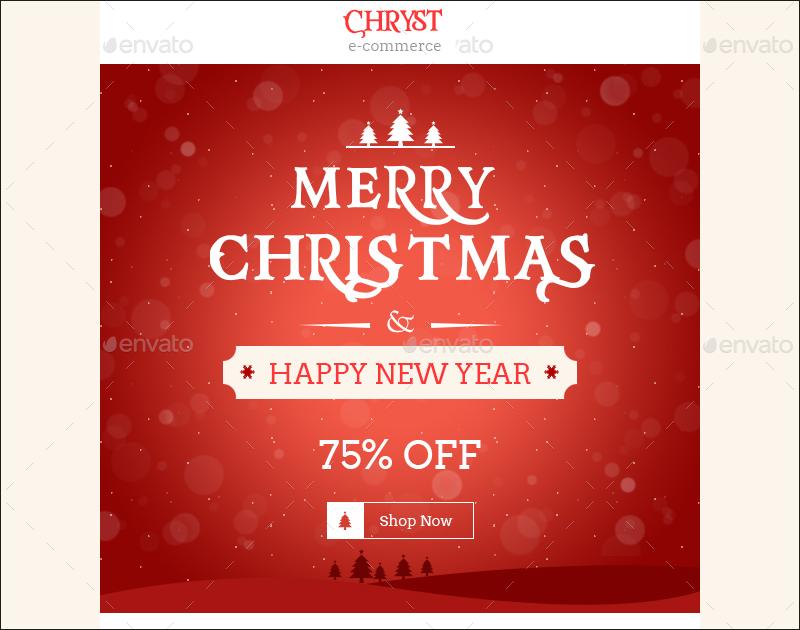 Christmas Shopping Offers & e-Commerce Newsletter