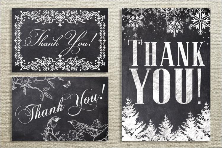 Christmas Thank You Cards Bundle