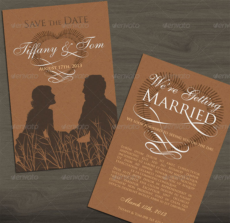 Classic Invite & Save The Date