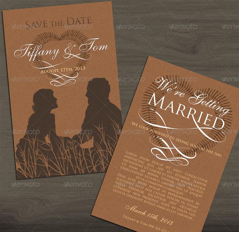 Classic Invite & Save The Date