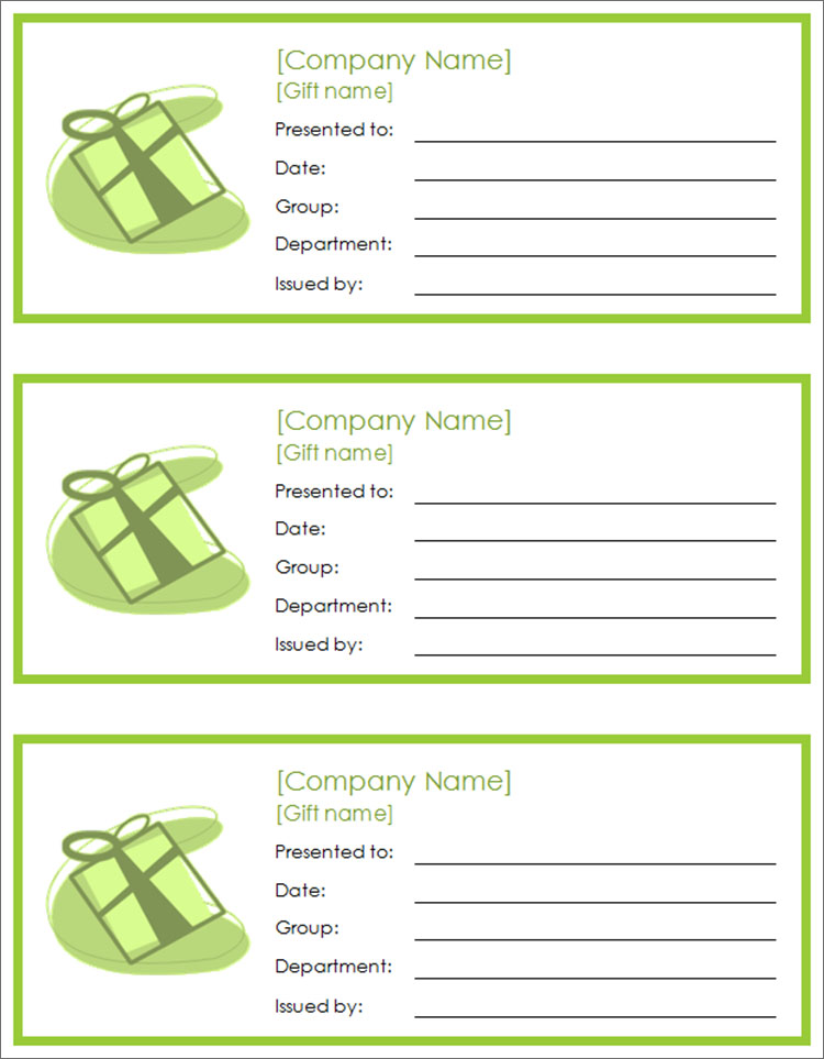 Coupon Template. Easily Editbale Homemade Coupon Template Download