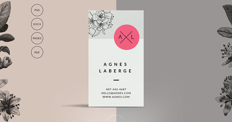 Developer Business Card Template