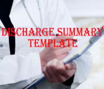 Discharg Summary Template