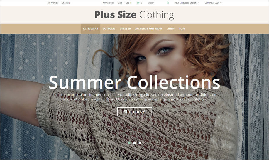 Fashion Apparel Magento Theme