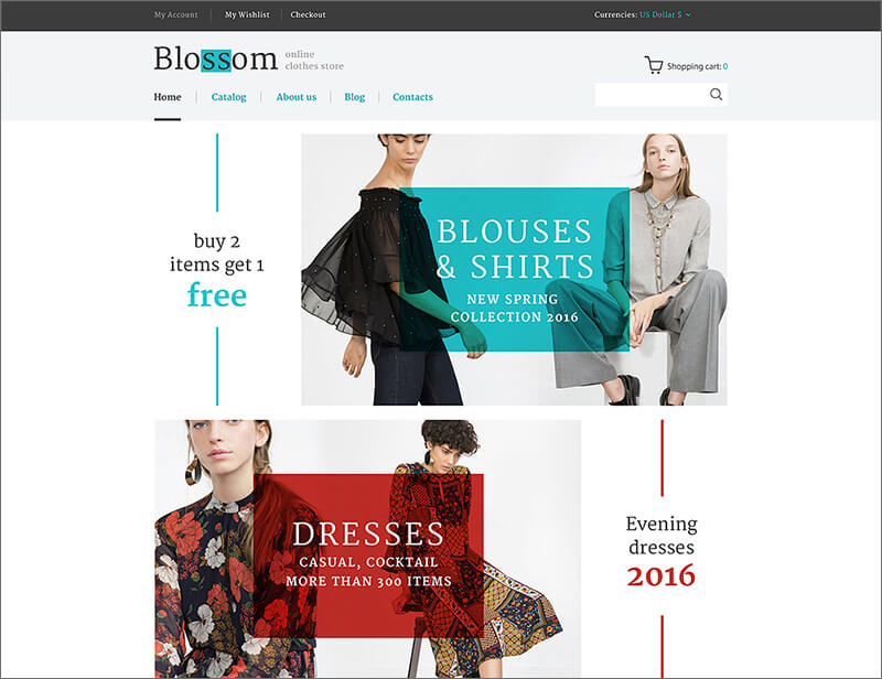 Fashion & Beauty VirtueMart Template