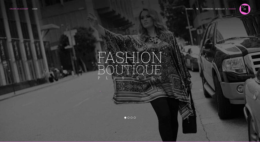 Fashion Boutique VirtueMart Template