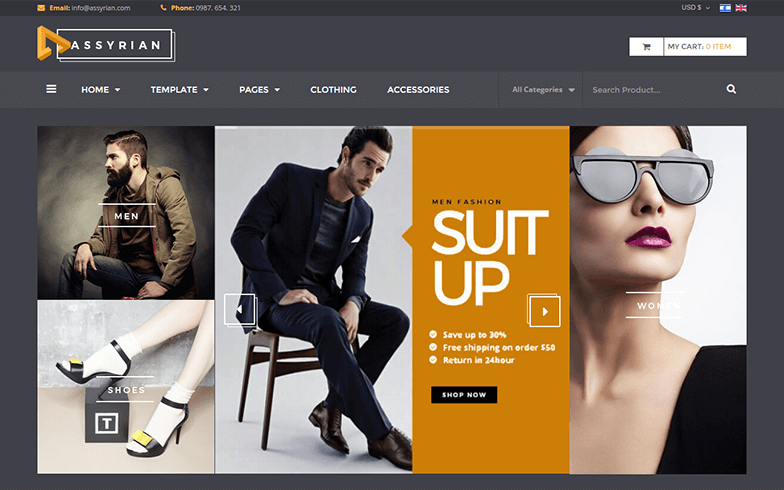 Fashion VirtueMart 3 Theme