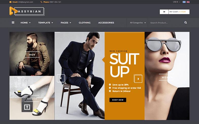 Fashion VirtueMart 3 Theme