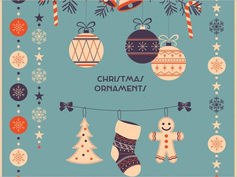 Free Christmas Ornaments Design