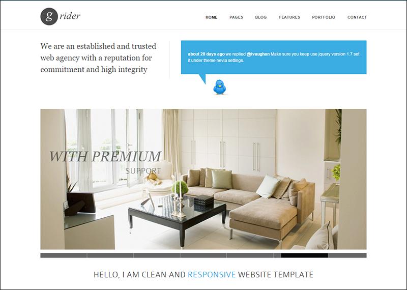 HTML5 & CSS3 Responsive Drupal Theme