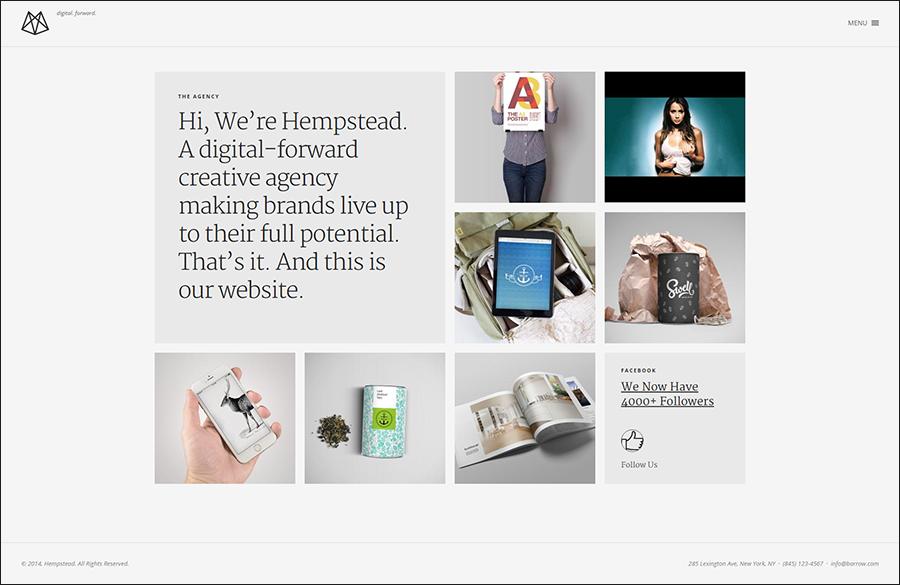 HTML5 & Drupal Portfolio Template