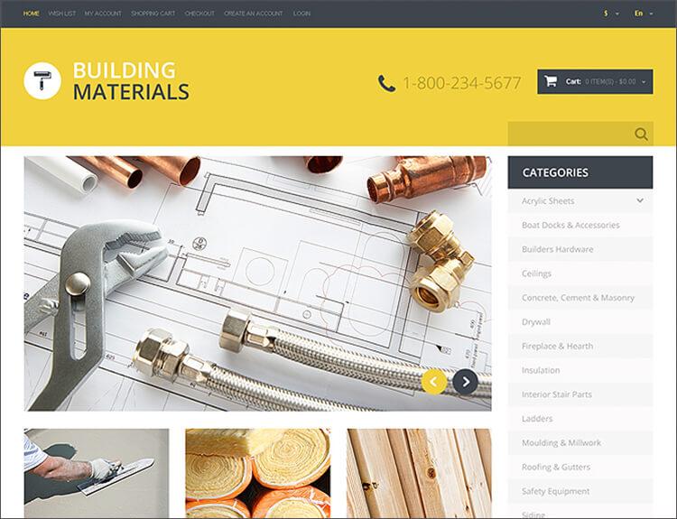 Home Repairs Responsive OpenCart Template