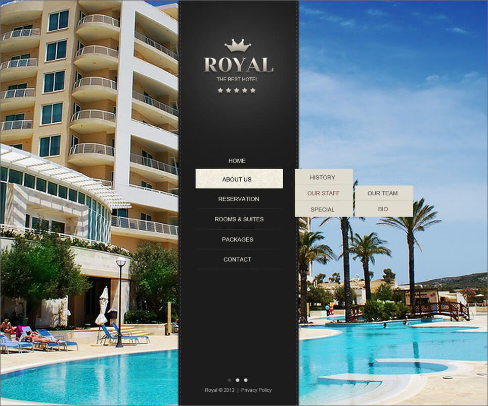 Hotels Website With PHP