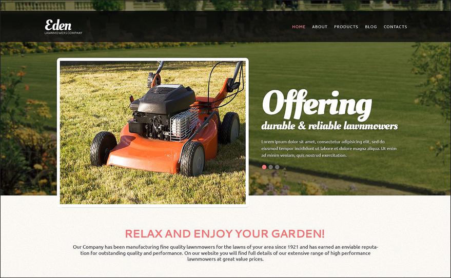 Landscape Design Tools Drupal Template