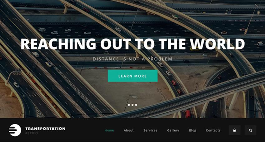 Logistics Agency Drupal HTML5 Template