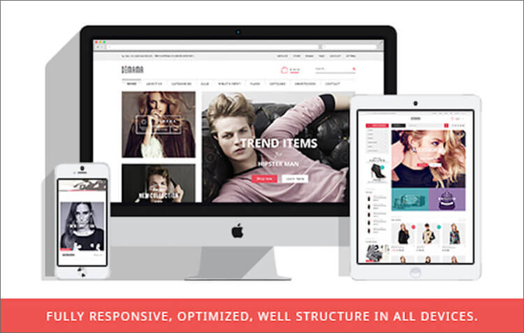 Magento Fashion Store Theme