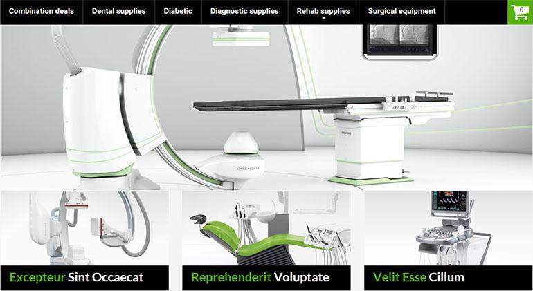 Medical Magento Templates