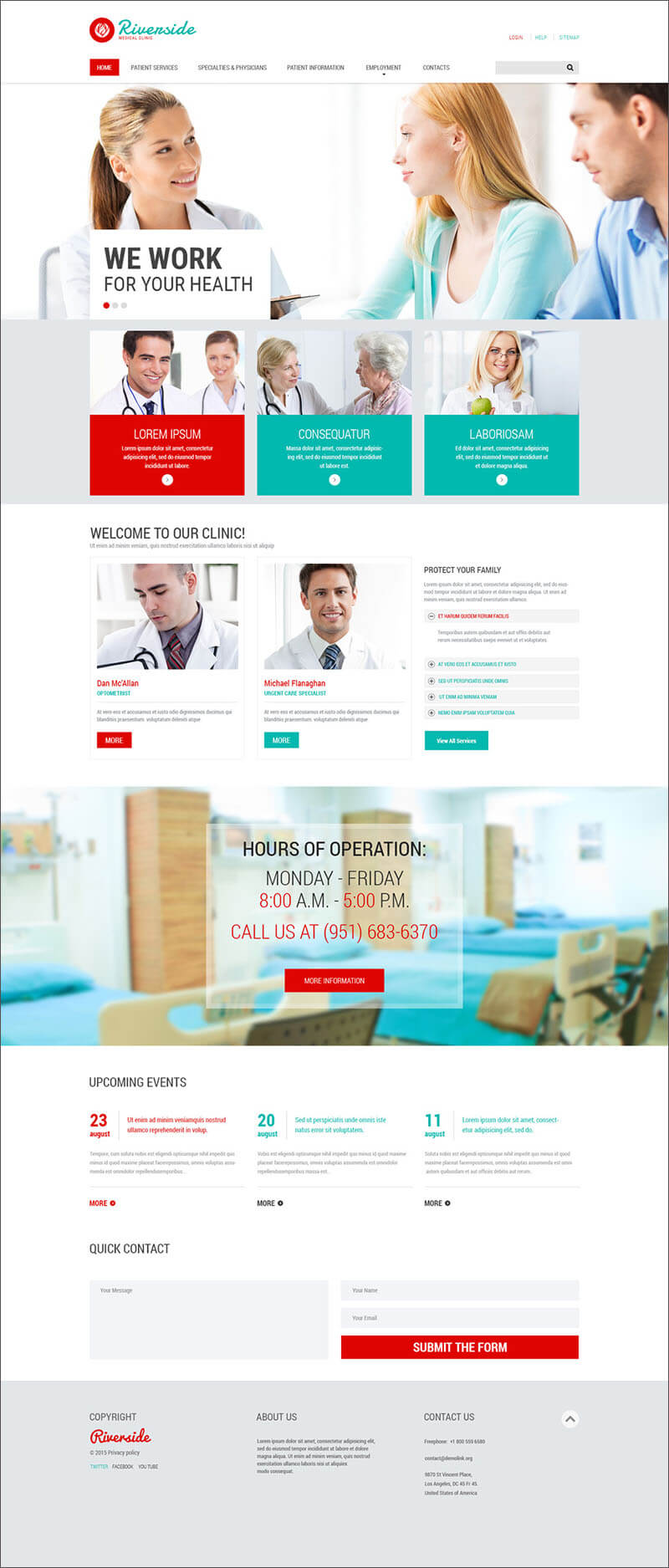Medical Services PHP Template