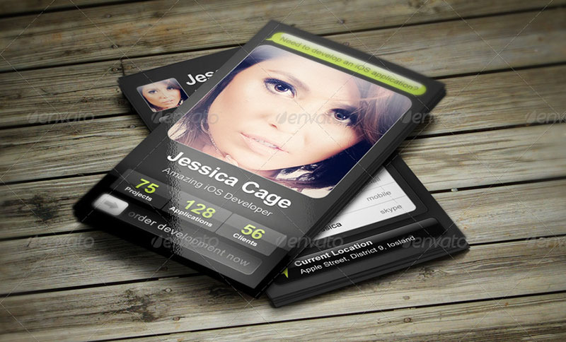 36 Developer Business Card Templates Psd Designs