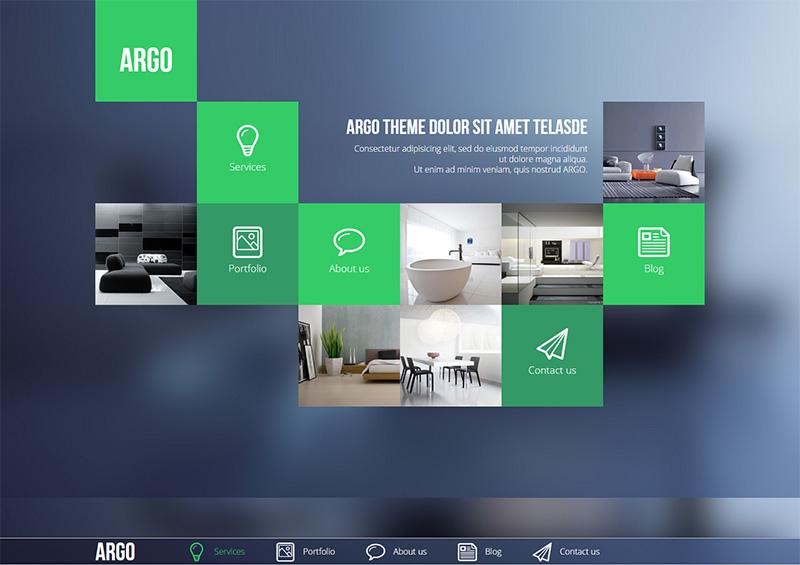 Modern OnePage Metro UI Drupal Theme