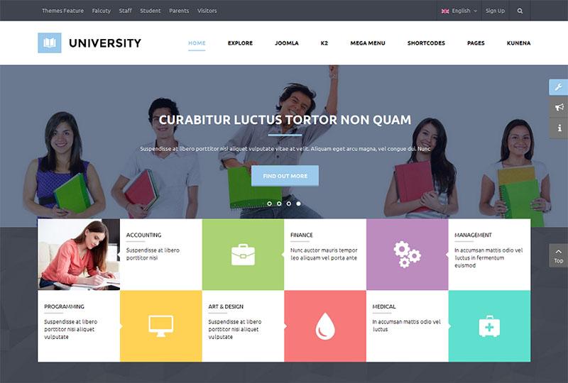 Multipurpose Education Joomla Template