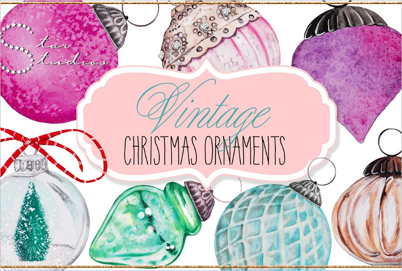 Pack Of Christmas Ornaments