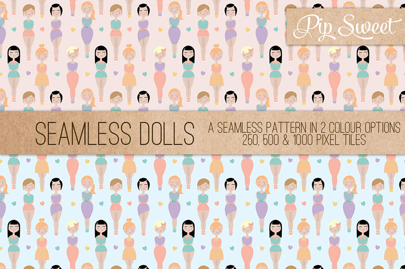 Paper Doll Patterns