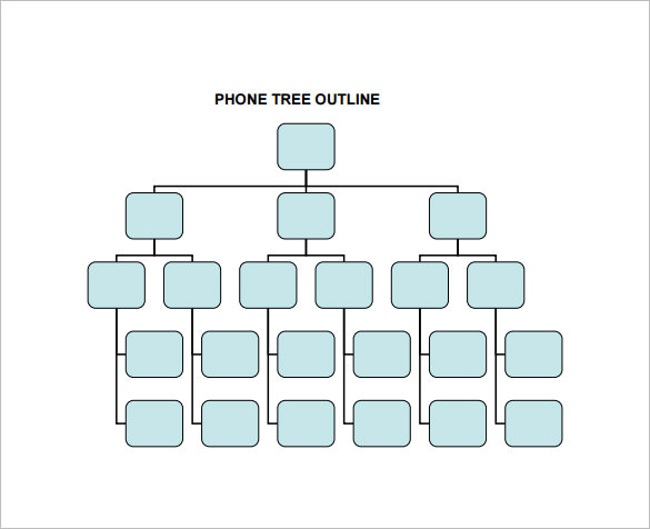 phone-tree-outline-template